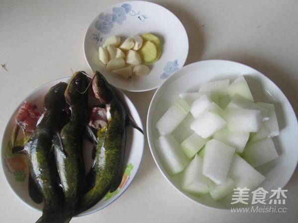 黄骨鱼炖冬瓜的做法大全
