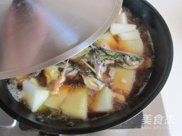 黄骨鱼炖冬瓜怎么炒