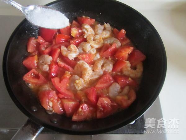 番茄炒虾仁怎么煸