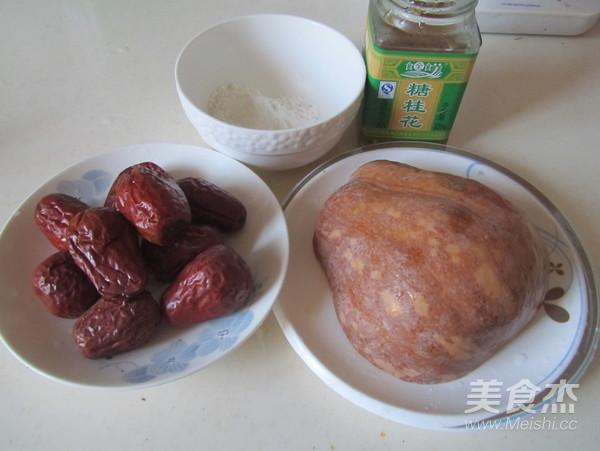 桂花红枣蒸南瓜的做法大全