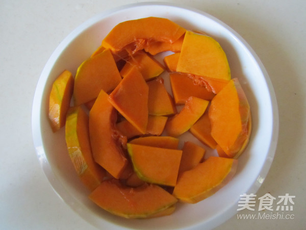 桂花红枣蒸南瓜的做法图解