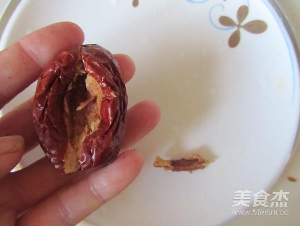 桂花红枣蒸南瓜的简单做法