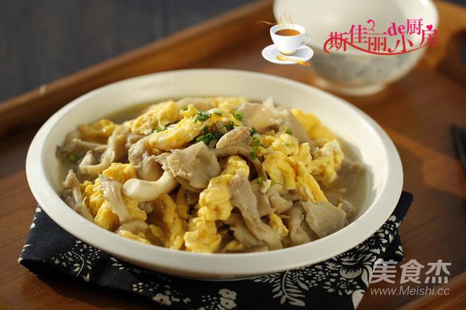 平菇炒鸡蛋怎么煮