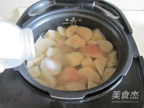 白萝卜蹄花汤怎么煮