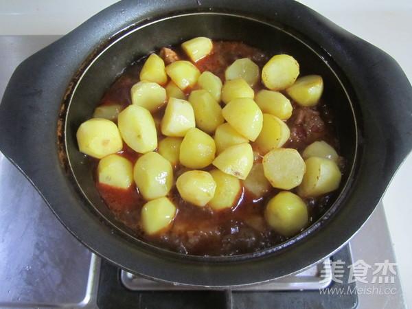 川味土豆烧排骨怎么煸