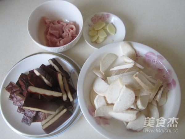 杏鲍菇干子炒肉片的做法大全