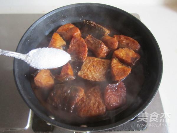 红烧鱼块怎么炒