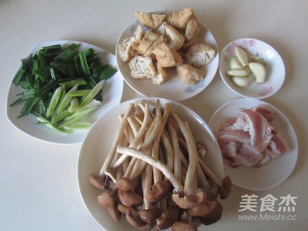 茶树菇豆腐泡五花肉的做法大全
