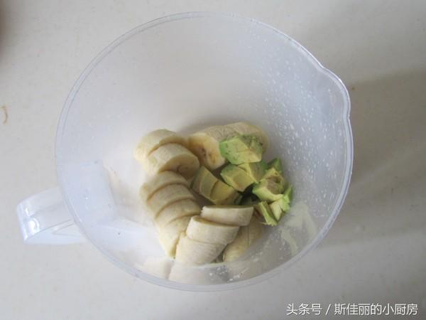 牛油果香蕉奶昔的家常做法