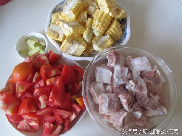 番茄玉米牛肉汤的做法大全