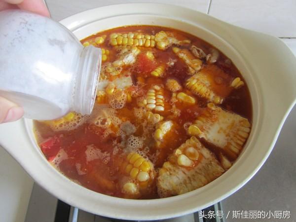 番茄玉米牛肉汤怎么炖