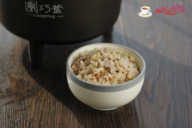 藜麦红米饭成品图