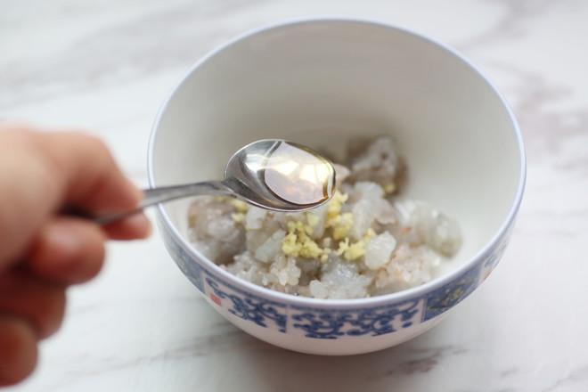 香菇蒸虾盏的步骤