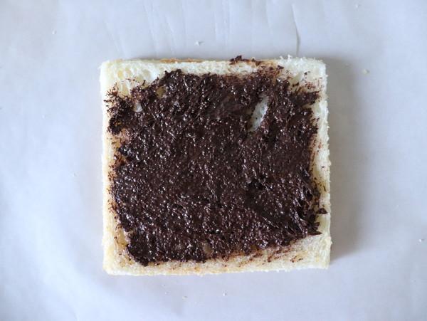 巧克力酱西多士的家常做法