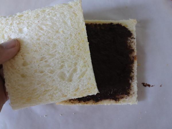巧克力酱西多士的简单做法
