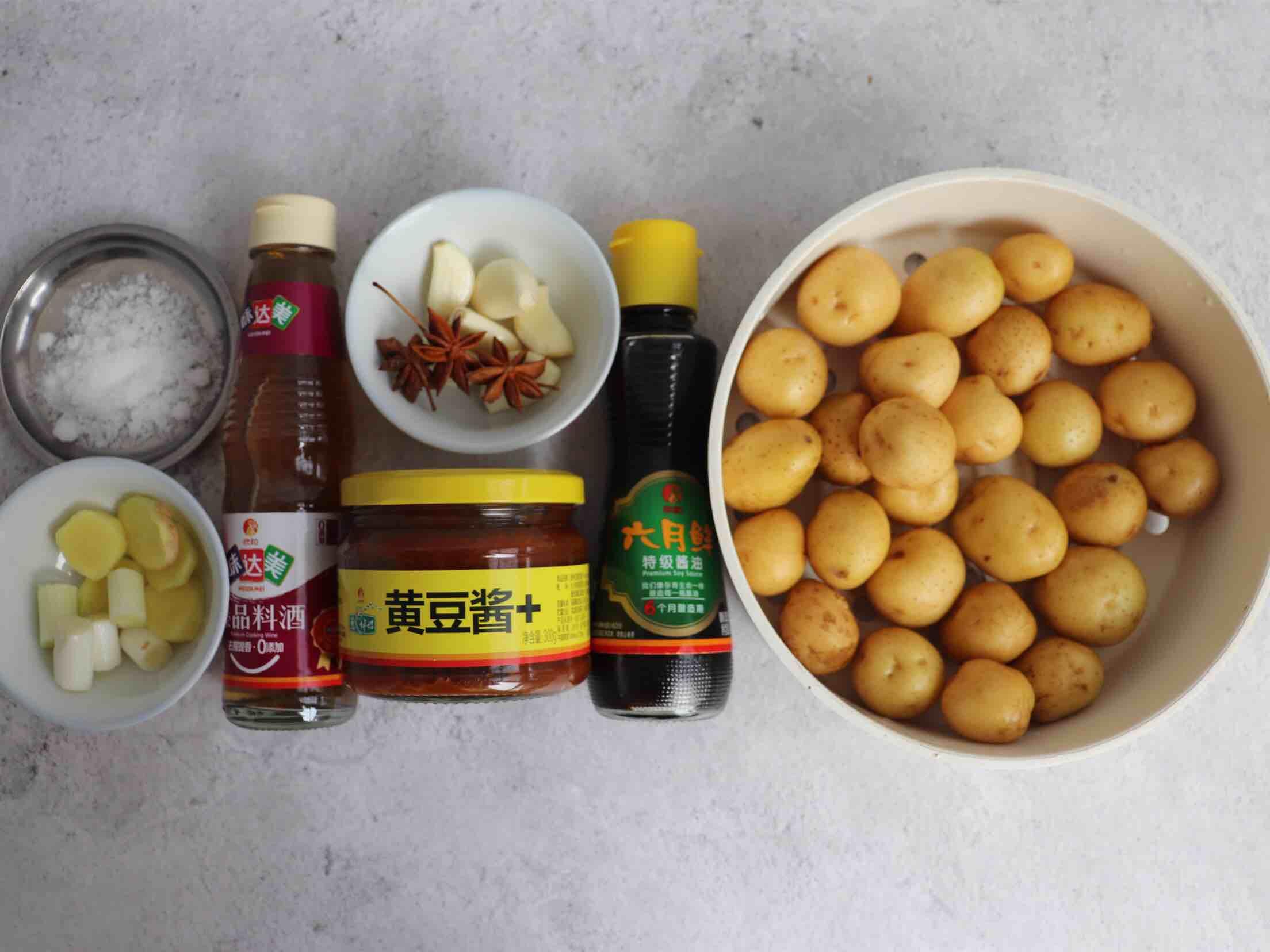 酱焖小土豆的做法大全