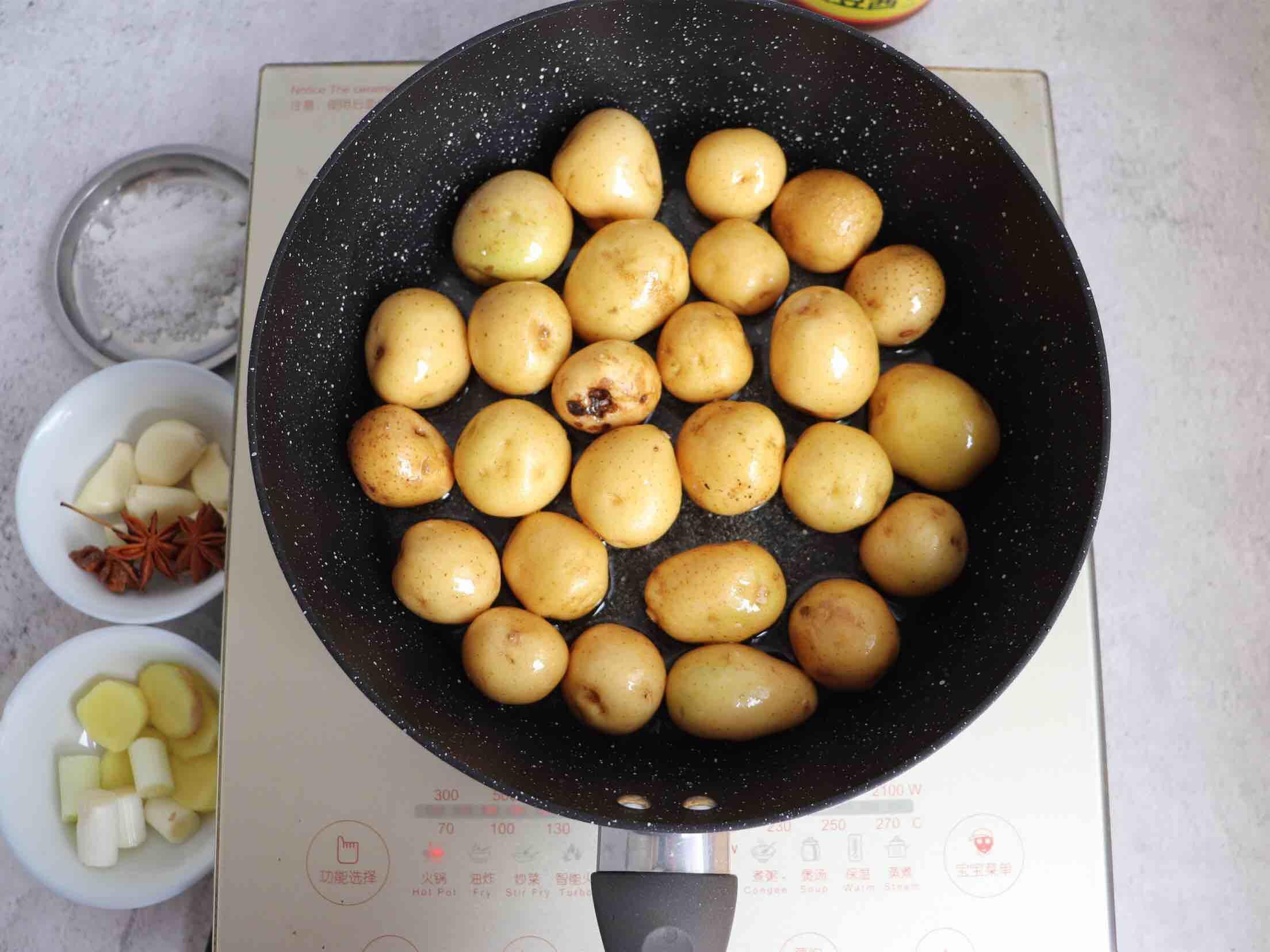 酱焖小土豆的家常做法