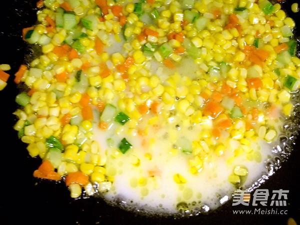 松仁玉米怎么炒