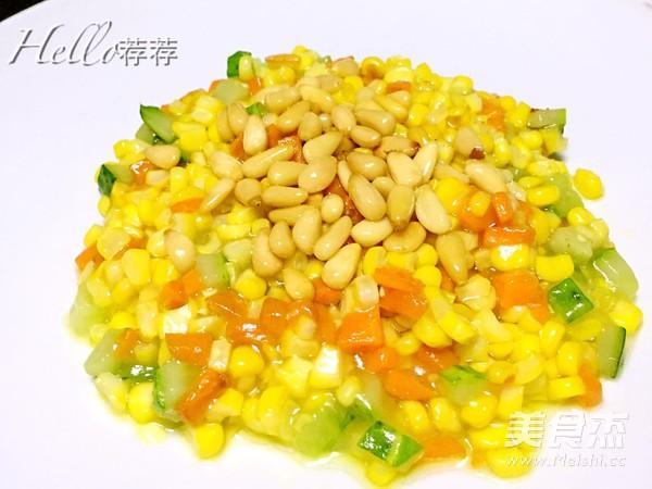 松仁玉米怎么煮