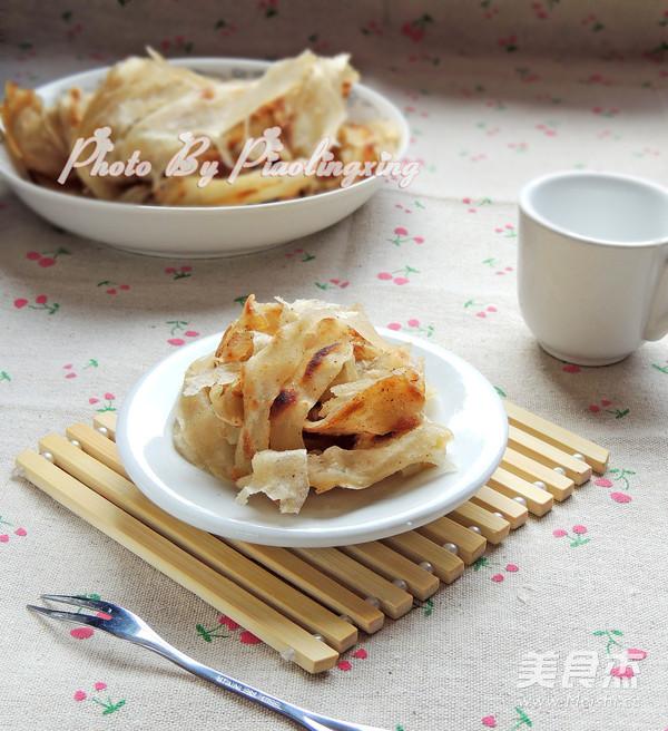 葱花烙饼成品图