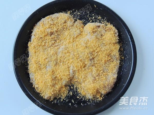 空炸黑胡椒鸡排怎么煮