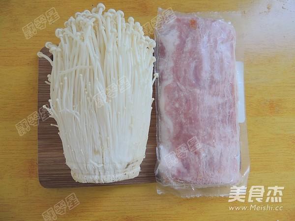培根金针菇卷的做法大全