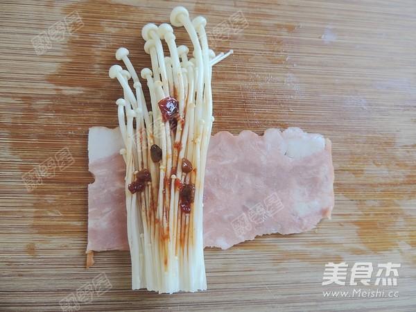 培根金针菇卷怎么吃