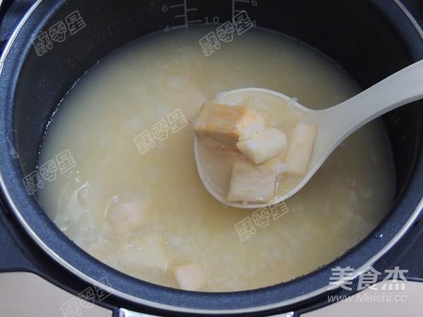 玉米渣红薯粥的步骤
