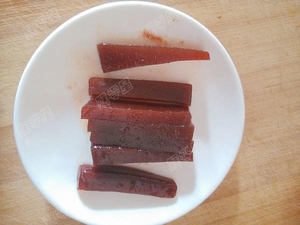 京糕木瓜糖水的步骤