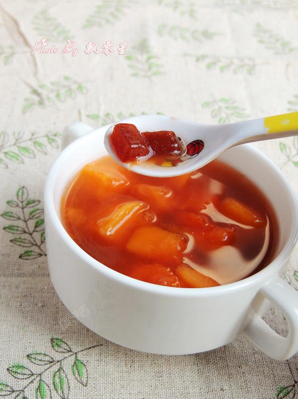 京糕木瓜糖水成品图