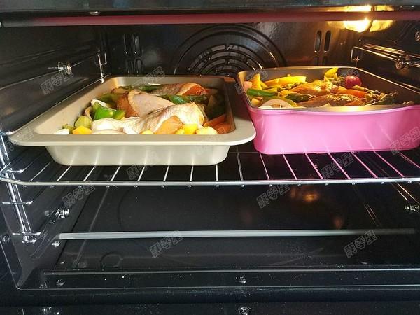 时蔬烤鸡腿怎么煮