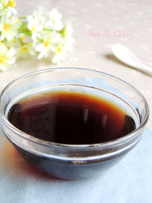 可乐煲姜汤成品图