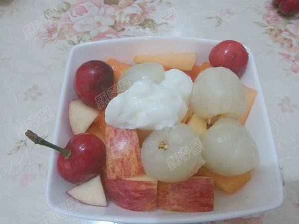 酸奶水果沙拉怎么做