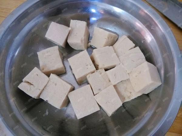 冻豆腐炖花菜的做法图解