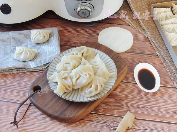 香菇猪肉饺子成品图