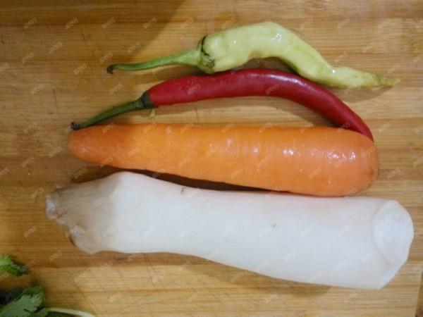 香菜胡萝卜炒杏鲍菇的做法大全