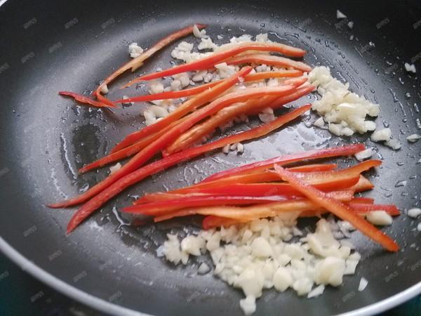 椒丝蒜蓉空心菜的简单做法