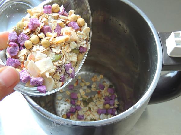 藜麦紫薯豆浆的做法图解