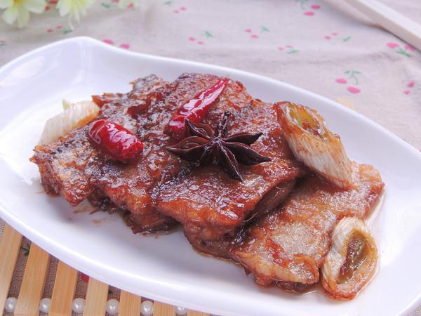 紅燒帶魚成品圖