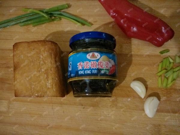 橄榄菜炒豆腐干的做法大全