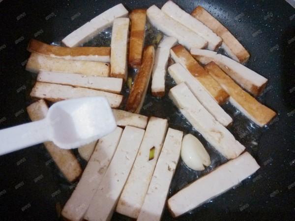 橄榄菜炒豆腐干怎么做