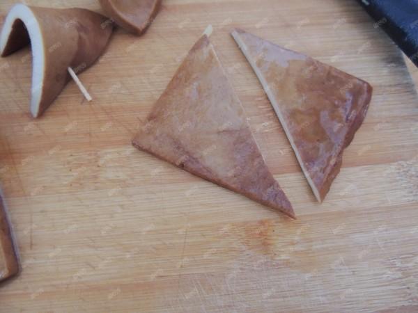 香卤牙签豆腐干的家常做法