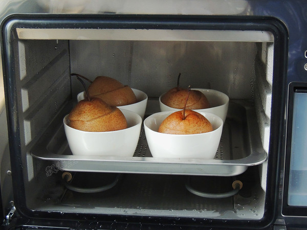 冰糖红枣雪梨盅怎么煮