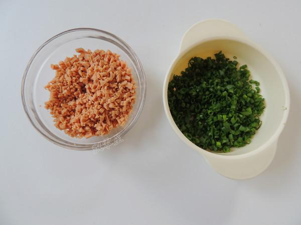 香葱火腿面包卷怎么做
