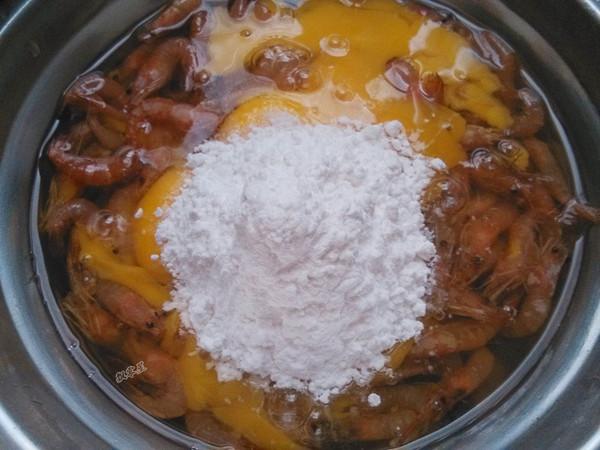 河虾鸡蛋饼的简单做法