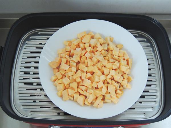 豆沙红薯饼的家常做法