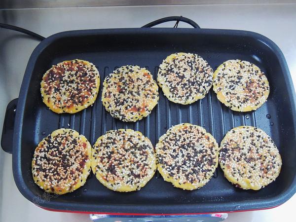 豆沙红薯饼的制作方法