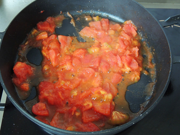 番茄金针豆腐怎样炒