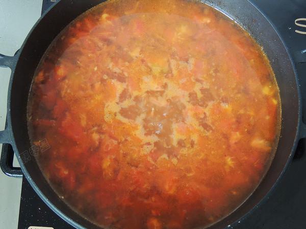 番茄金针豆腐怎样煮