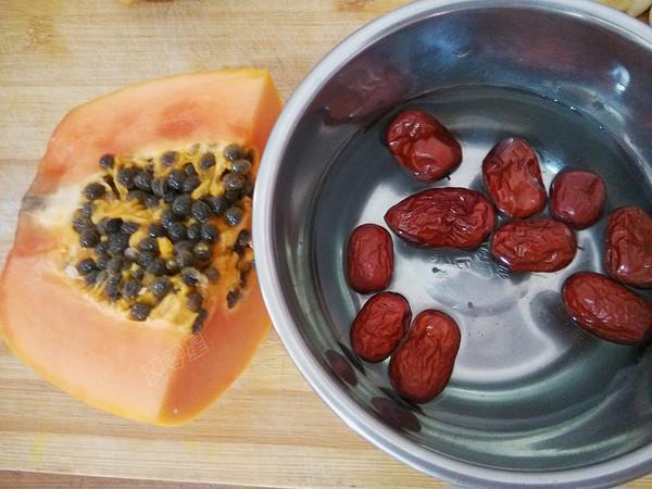 红枣木瓜鲫鱼汤的做法图解